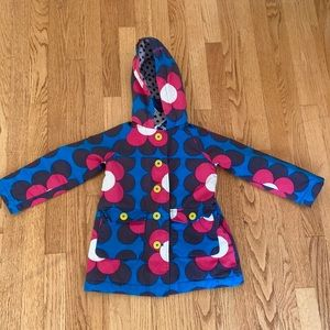Mini Boden thick cotton floral jacket - 3/4